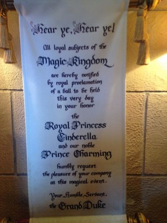 Bibbidi Bobbidi Boutique: Royal proclamation