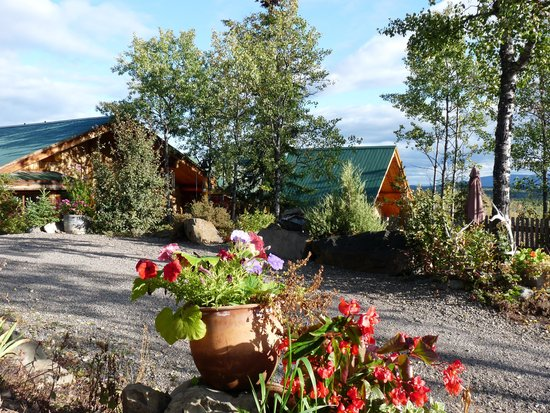 Logpile Lodge : The Lodge and Garden