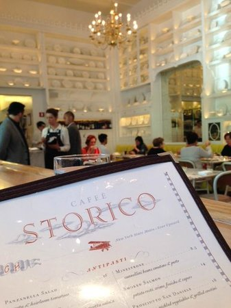 Lunch at Caffe Storico!