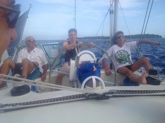 Folly Too: Pierre, Eric and Lloyd at the helm