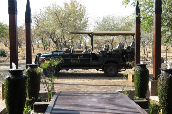 Jamala Madikwe : The vehicle (always beautiful polished by the ranger and equipped with blankets for chilly morni