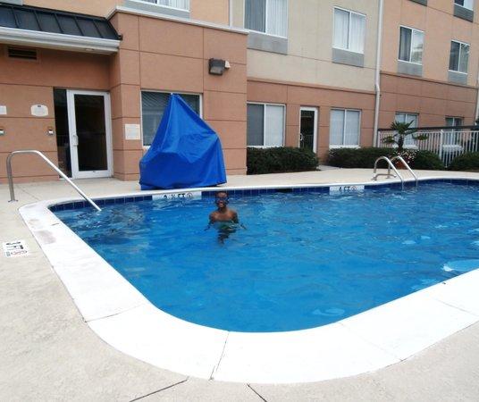 Fairfield Inn & Suites Charleston North/University Area: Nice pool!