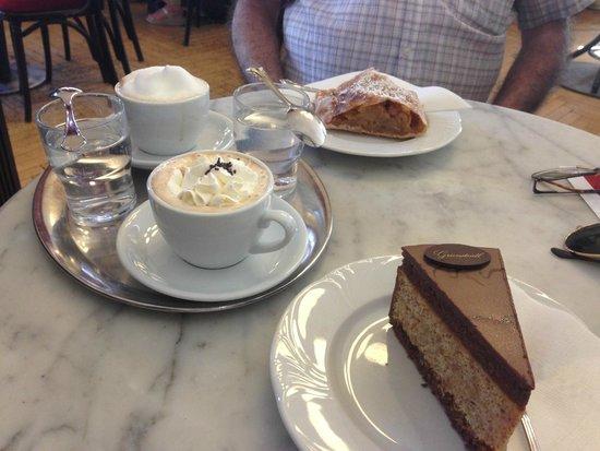 Cafe Griensteidl: café
