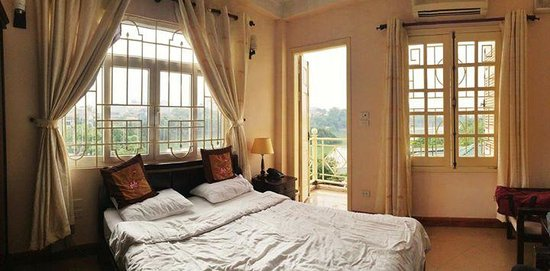 Heart Hotel: the great view of Hoan Kiem Lake at the 6th floor