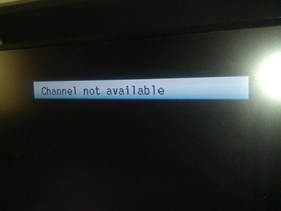 Hampton Inn Bowling Green: Channels Not Available