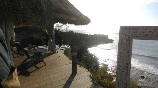 La Joya II Biu-Biu : View from spa area
