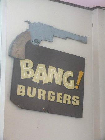 Bang Burgers: look out for the signs!