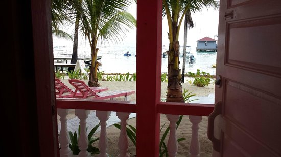 Conch Shell Inn: View from our ground floor room