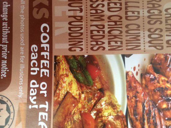 Hotel Shangri-La Kota Kinabalu : Yes their food just illusions only