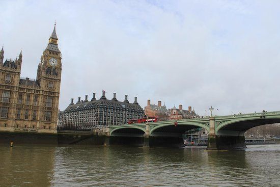 Thames River: Big Ben y Westminster Bridge
