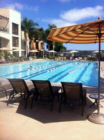 Grand Pacific Palisades Resort and Hotel : Beautiful pool
