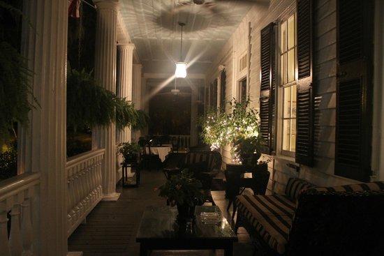 The Rhett House Inn: The Rhett Inn House Porch