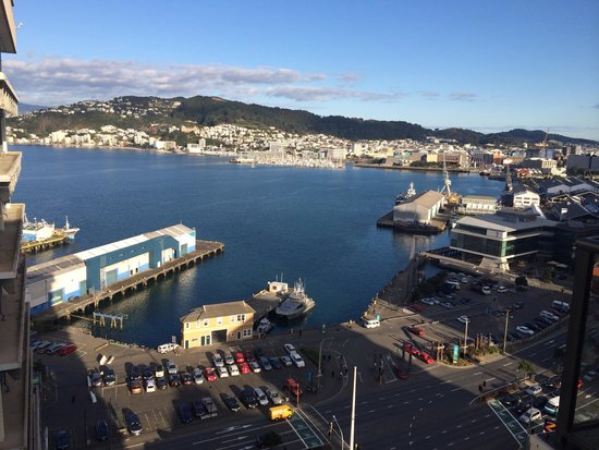 Rydges Wellington: Beautiful View from our Room