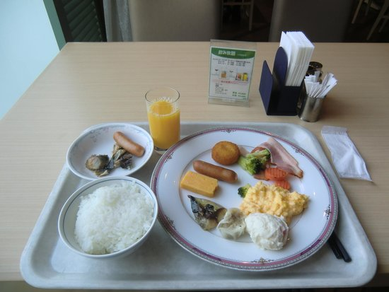 Kansai Airport Washington Hotel: buffet breakfast