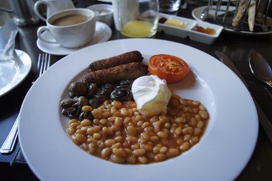 The Boar's Head: vegetarian breakfast