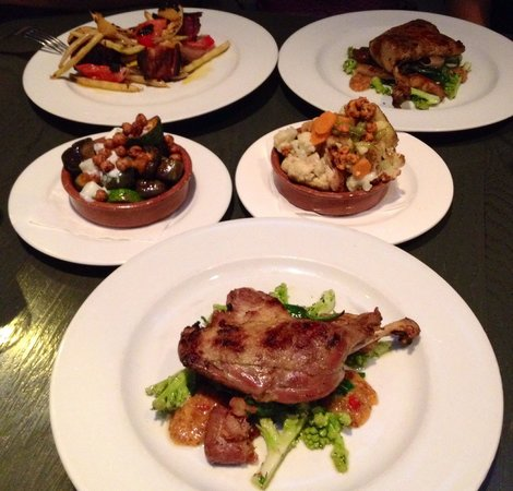 Nightwood Restaurant : Entire main course
