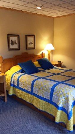 Naniboujou Lodge: Bed