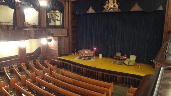 Dock Street Theater : Dock Street Theatre stage