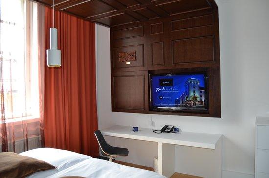 Radisson Blu Plaza Hotel, Helsinki: camera standard
