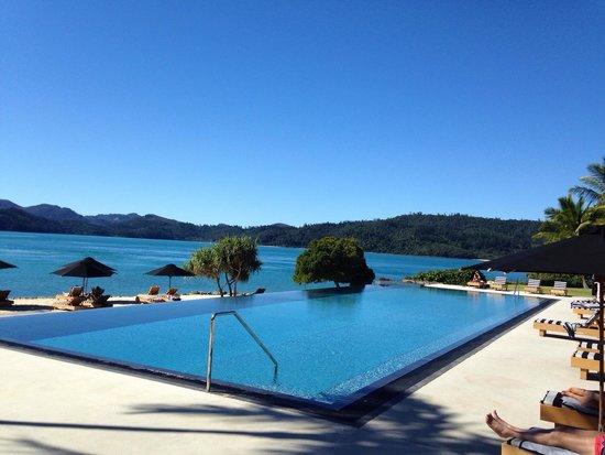 Qualia Resort: 大大大好きなプール!ドリンクや美味しいアイスクリームのサービスもあります\(//∇//)\