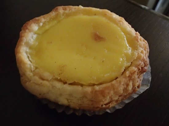 This photo of Hoover Cake Shop's egg tart courtesy of TripAdvisor