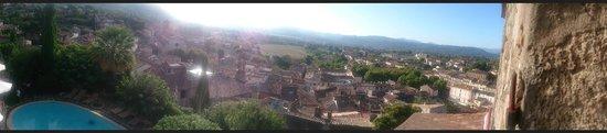 Le Logis du Guetteur: Vue panoramique photographiée avec le smartphone