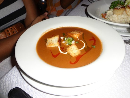 The Seahorse Inn: Soup, Lobster Bisque