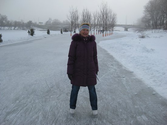 The Forks National Historic Site: Love skating at the Forks.