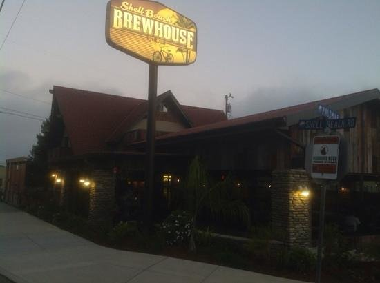 Shell Beach Brewhouse : outside of premises