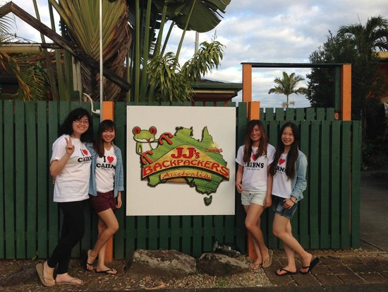 JJ's Backpackers Hostel: Welcome to JJ's Backpackers!