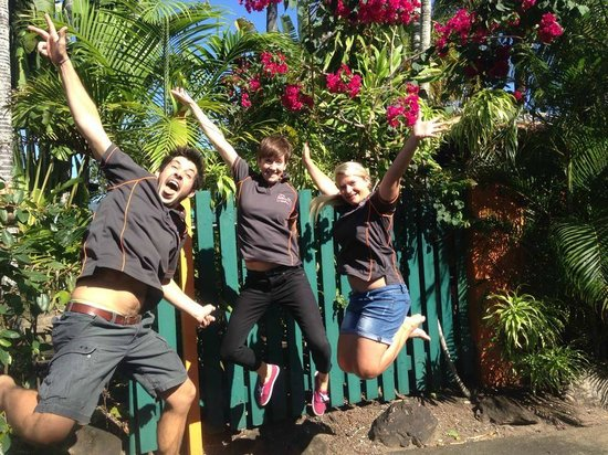 JJ's Backpackers Hostel: Our Great Staff