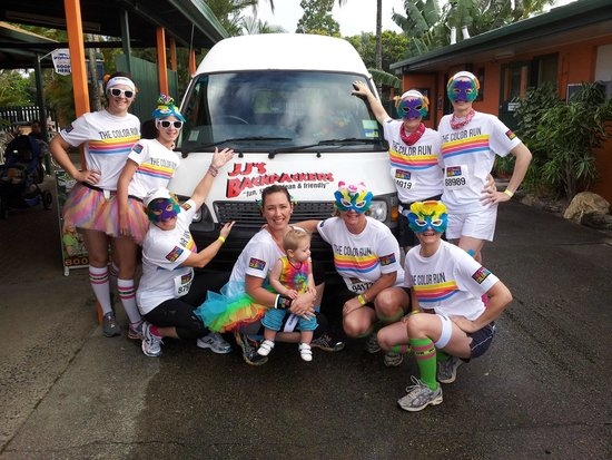JJ's Backpackers Hostel: Our Colour Run Team