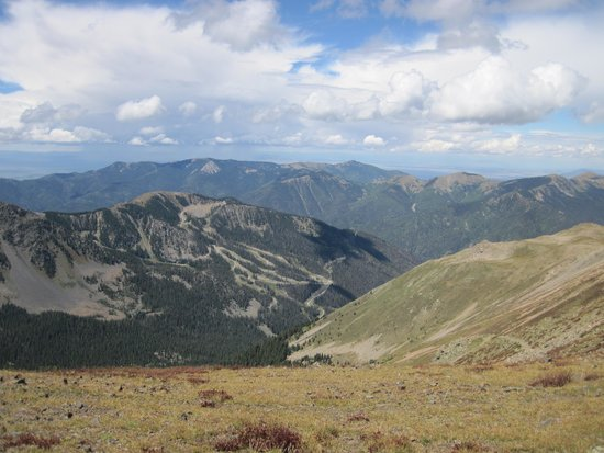 Wheeler Peak : There are gorgeous 360 degree views at the top.