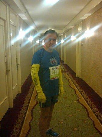 ذا روزفلت هوتل نيويورك سيتي: Muy de mañana antes del NY marathon