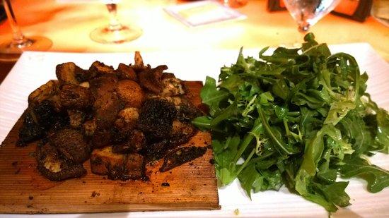 Seastar Restaurant & Raw Bar: Grilled Portabello Mushroom