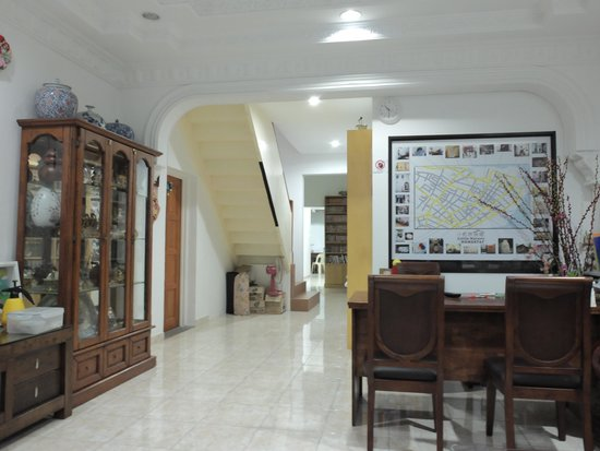 Little Nature Penang Homestay: the seating place