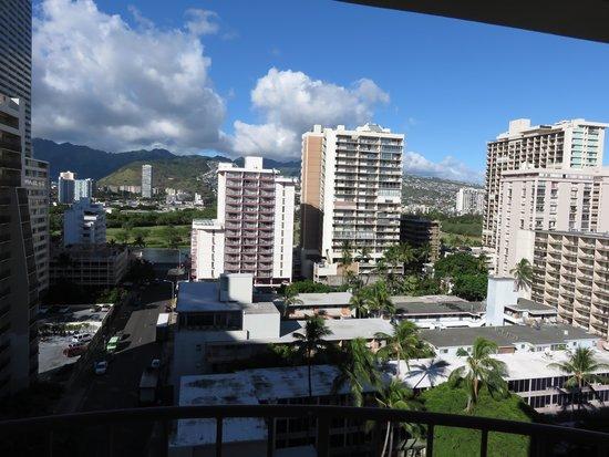 Waikiki Wave : View from Balcony
