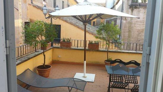 Hotel Mozart: Terrazza privata della.suite