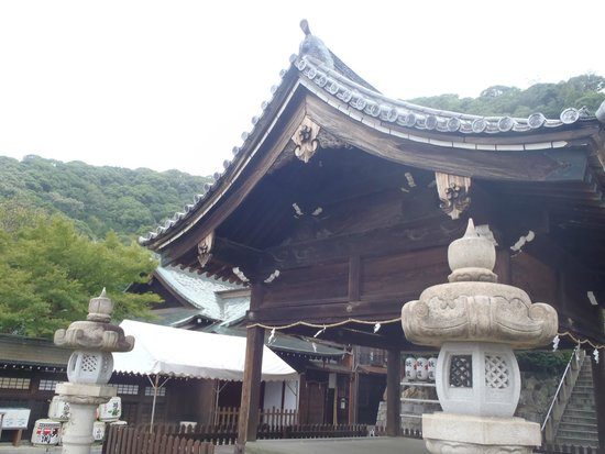 Kobe Kitano Temman Shrine : 本殿
