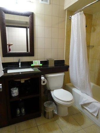 Red Lion Hotel Anaheim Resort : Bathroom