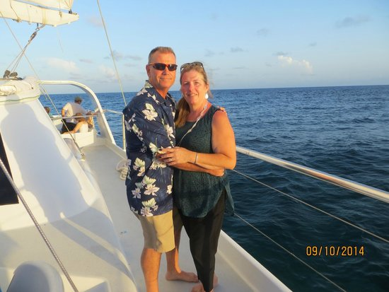 Simpson Bay, St. Maarten/St. Martin: Perfect setting for a perfect night