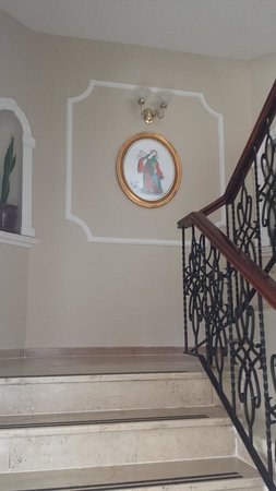 Best Western Citadel Hotel: Stairwell
