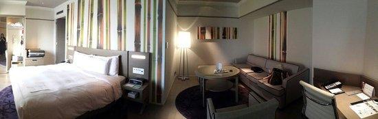 Swissotel Nankai Osaka : Hotel Room