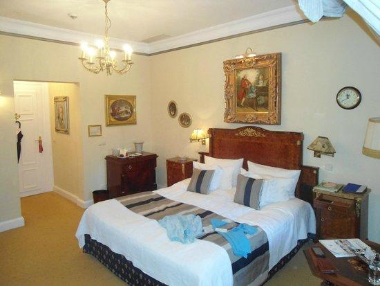 Hotel Belle Epoque: Schlafbereich Suite
