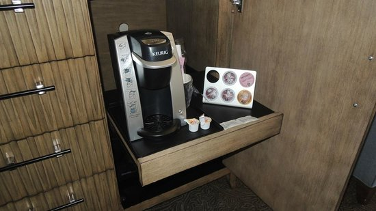 Cambria Landing Inn & Suites: If you run out of k-cups, the front desk can provide more