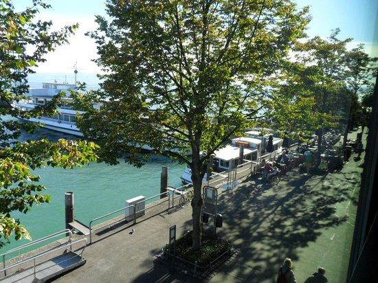 BEST WESTERN Hotel Goldenes Rad : Blick vom immer direkt auf den See
