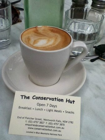 Conservation Hut: Lovely Coffee