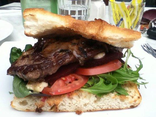 Conservation Hut: Steak Sandwich