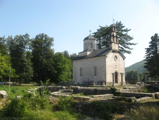 Museum of King Nikola: Cipur Church where the King & Queen are buried