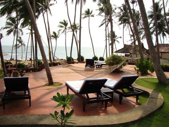 Coconut Bay Beach Resort: Zimmeraussicht